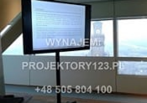 Wynajem telewizora TV 60 cali (event restauracja)