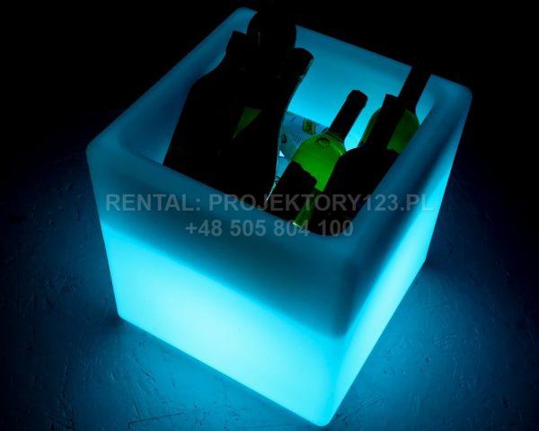 PROJEKTORY123 - podświetlanego kubika na lód (LED ICE BUCKET)