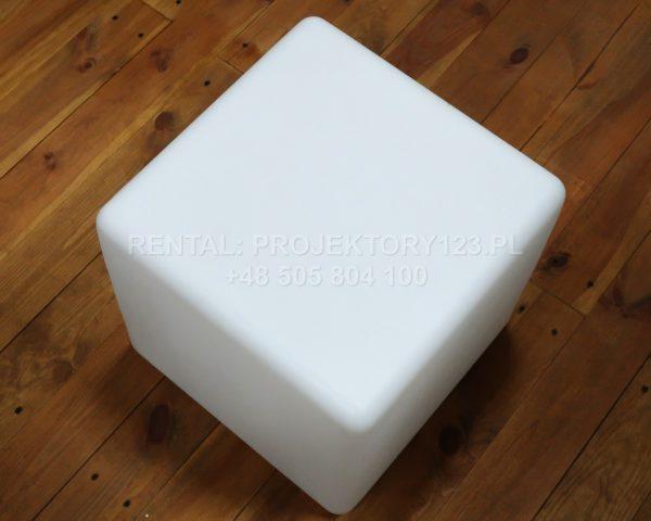 PROJEKTORY123 - wynajem kostki LED Cube 40cm white