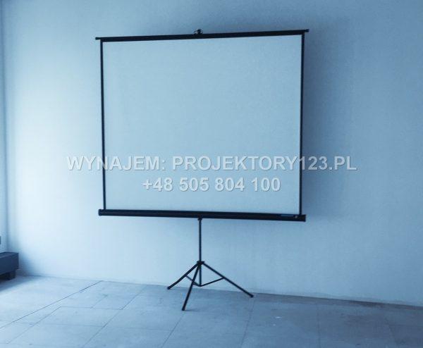 Wynajem ekranu projekcyjnego 200 cm