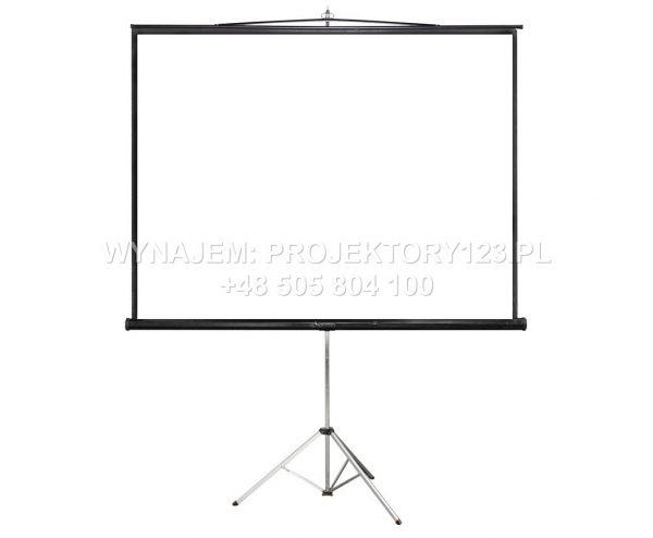 Wynajem ekranu projekcyjnego 240 cm