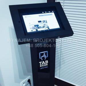 Wynajem kiosków multimedialnych / info kiosków
