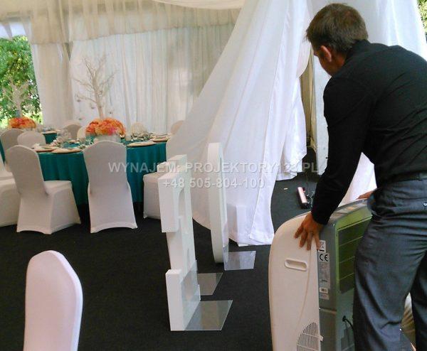 Wynajem klimatyzatorów przenośnych na wesele
