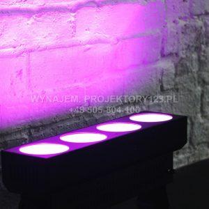 Wynajem krótkiej listwy LED COB (magenta)