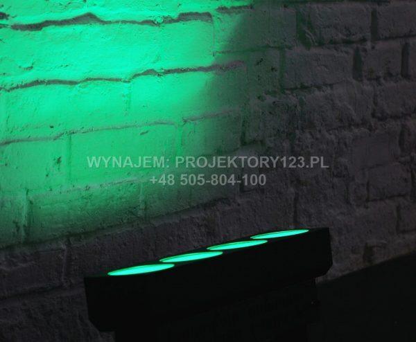 Wynajem krótkiej listwy LED COB (zielony)