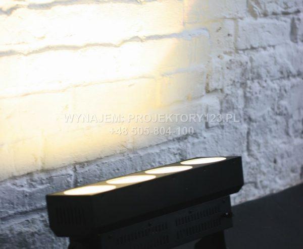 Wynajem krótkiej listwy LED COB (kolor żółty)