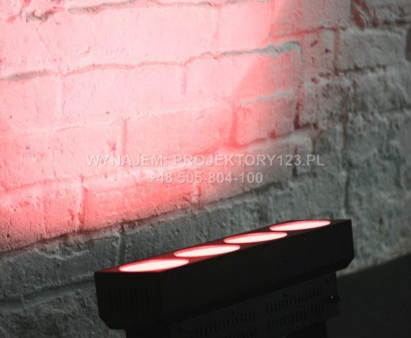 Wynajem krótkiej listwy LED COB (kolor czerwony)
