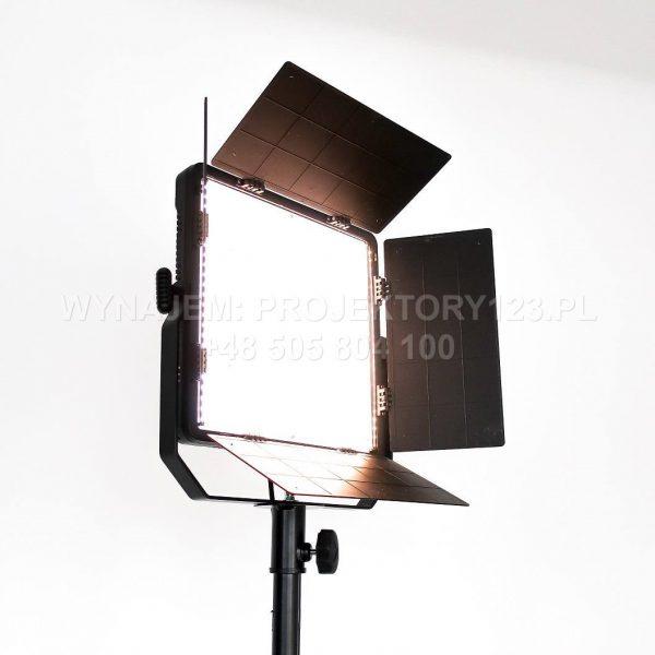 PROJEKTORY123.PL - wynajem panelowej lampy filmowej LED 2800-6500K, V-mount