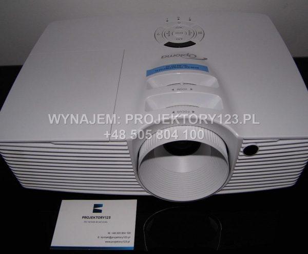 Wynajem projektora multimedialnego Full HD - front
