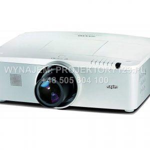 Wynajem projektora eventowego 6000 ANSI, zmienna optyka