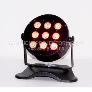 Wynajem reflektora LED PAR Slim 9x10W