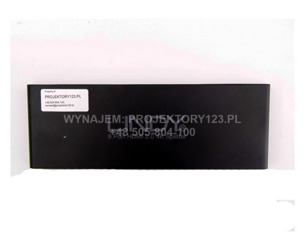 Wynajem splittera HDMI (rozdzielacza sygnału HDMI)