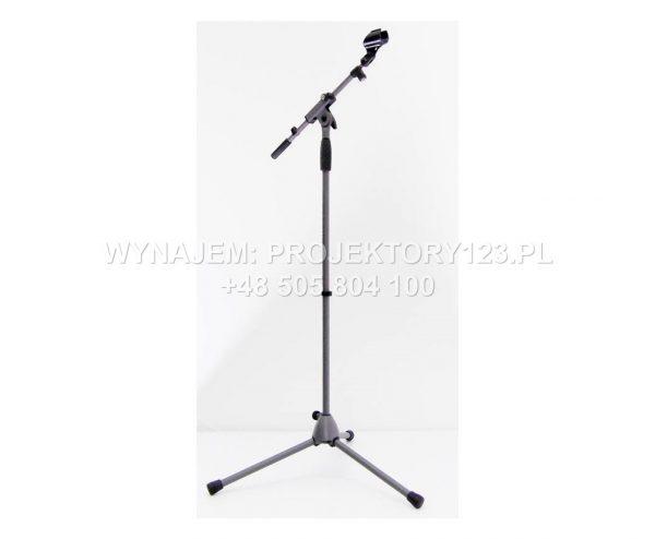Wynajem statywów mikrofonowych