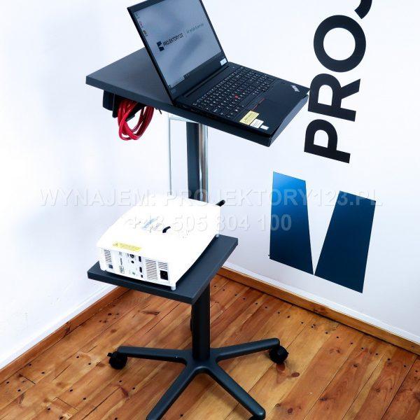 PROJEKTORY123.PL - wynajem stolika prezentacyjnego podwójnego