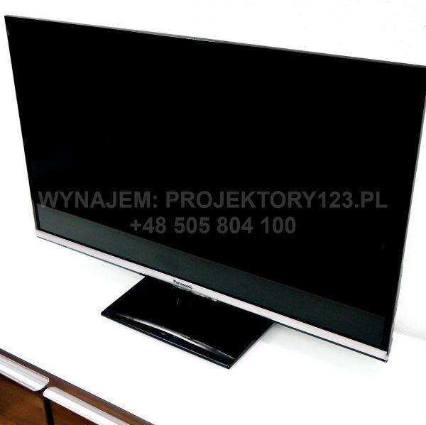 PROJEKTORY123.PL - wynajem telewizora 32 cale na podstawie stolowej