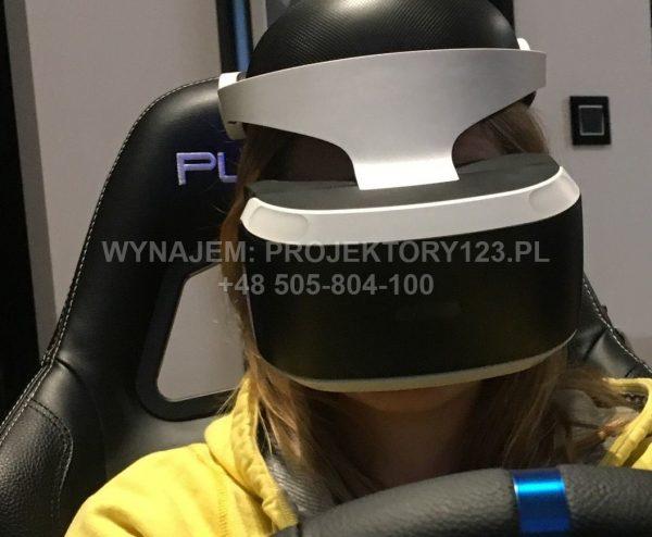 Wynajem VR, konsol VR, gogli VR
